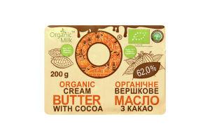 Масло вершкове органічне з какао 62 %, 200 г - купить в интернет-магазине Юнимед
