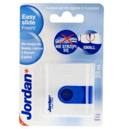 Зубний флос Jordan TT EasySlide Fresh floss(25м) з віском та зубною пастою, не розшаровуєтся - купить в интернет-магазине Юнимед