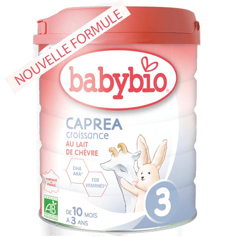 BabyBio Caprea3 Суміш дитяча з козиного молока, органічна для годування  діток від 10 місяців до 3 років 800 гр - купить в интернет-магазине Юнимед