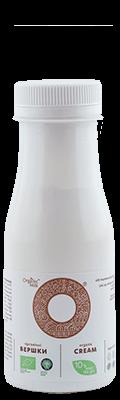 Вершки органічні пастеризовані 10 %, 180 мл - купить в интернет-магазине Юнимед