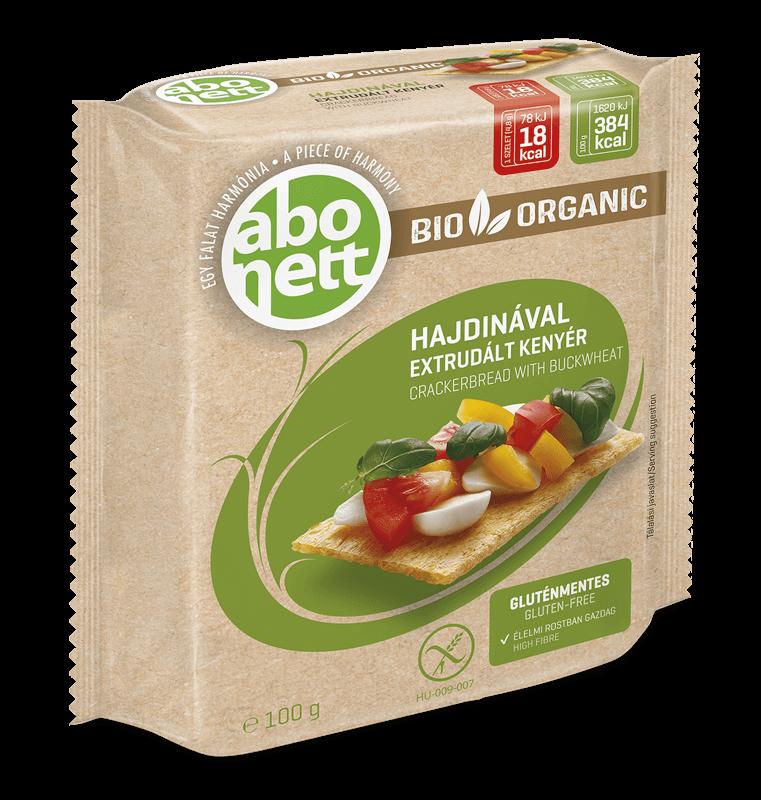 Органічні безглютенові хлібці з гречаного борошна, 100 гр. ABONETT - купить в интернет-магазине Юнимед