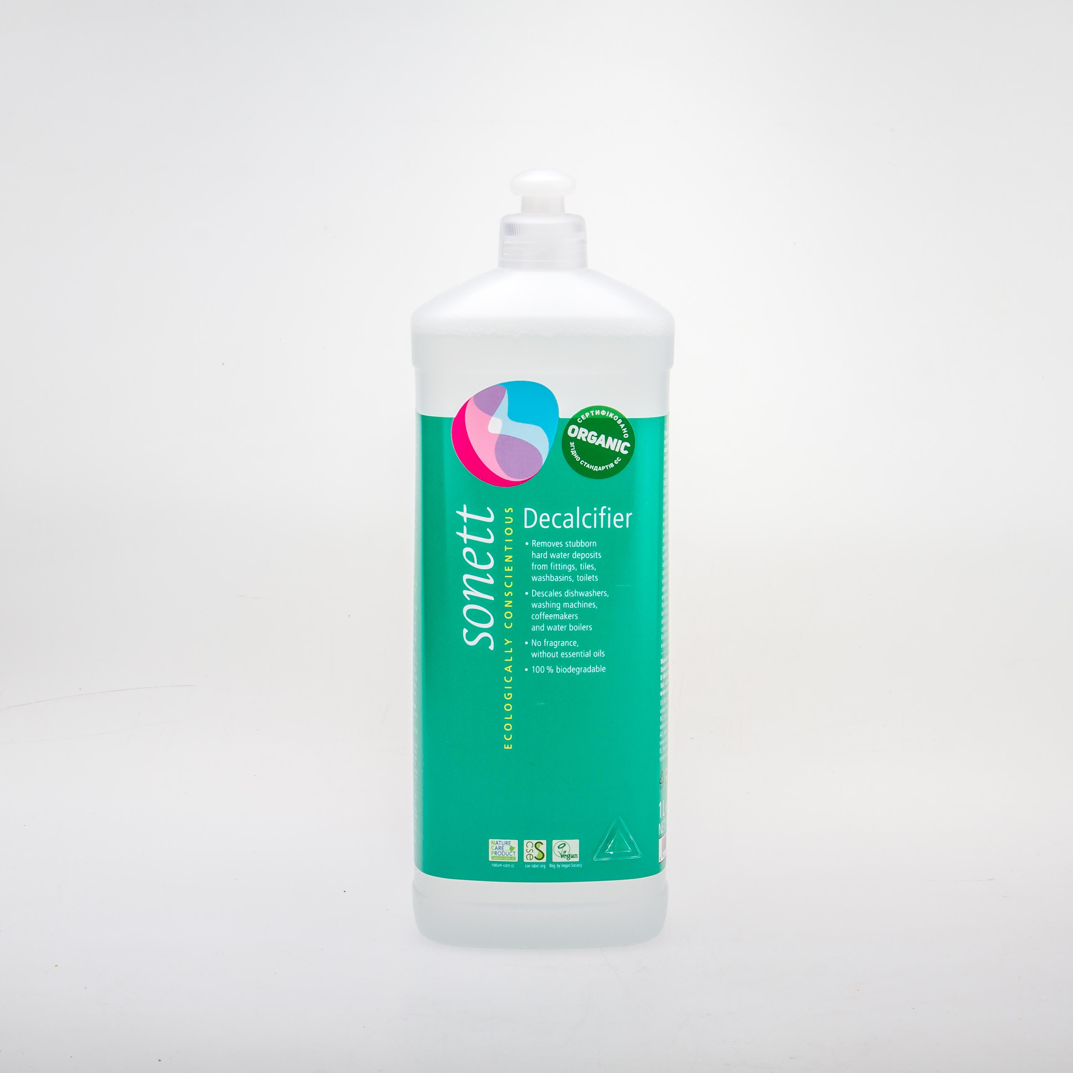 Sonett органічна рідина для видалення накипу і кальцієвих відкладень,  1л - купить в интернет-магазине Юнимед