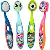 Дитяча зубна щітка Jordan Step2  3-5 років (м`яка)  з ковпачком для подорожей - купить в интернет-магазине Юнимед
