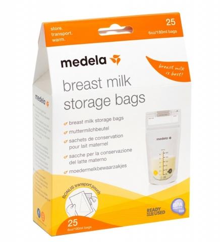 Пакети для зберігання та заморожування грудного молока (25 шт.) - купить в интернет-магазине Юнимед