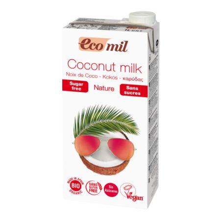 Органічне рослинне молоко з кокосу без цукру,1л - купить в интернет-магазине Юнимед