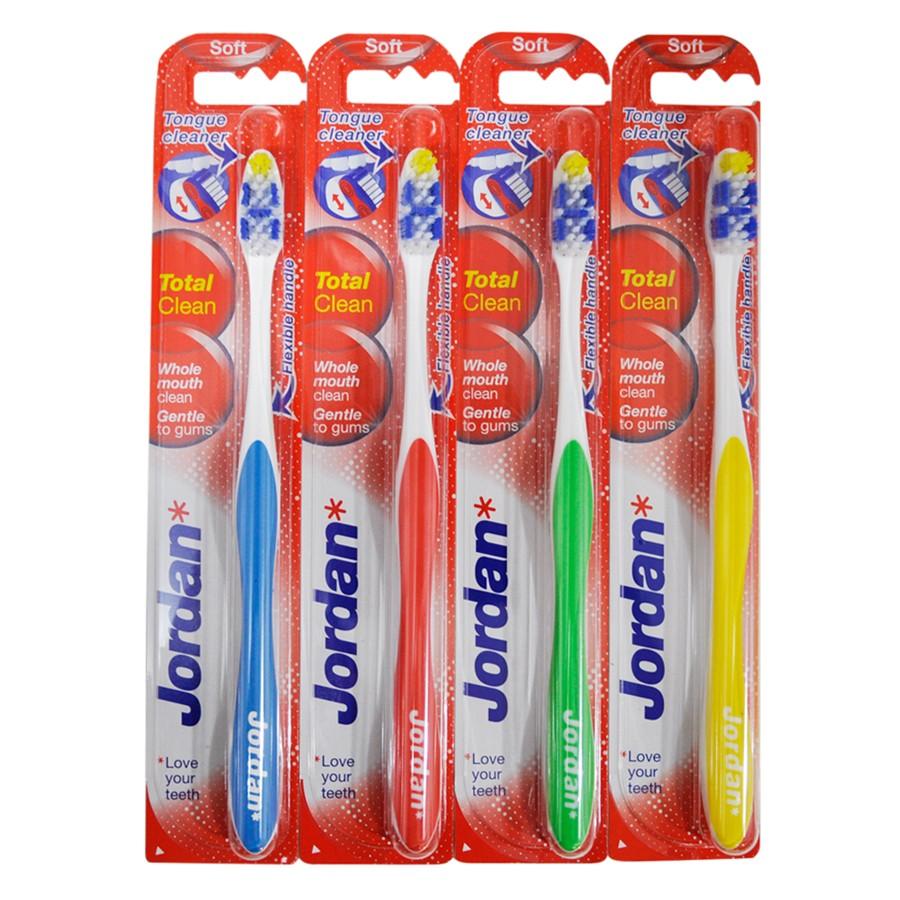 Зубна щітка Jordan Total Clean (середня) - купить в интернет-магазине Юнимед