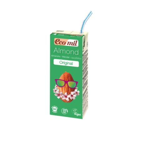 Органічне рослинне молоко з мигдалю 200мл з сиропом агави - купить в интернет-магазине Юнимед
