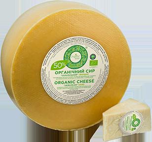 Сир органічний твердий