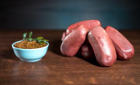 Сардельки Organic Meat органічні для харчування дітей дошкільного та шкільного віку вищий сорт, 420 г - купить в интернет-магазине Юнимед