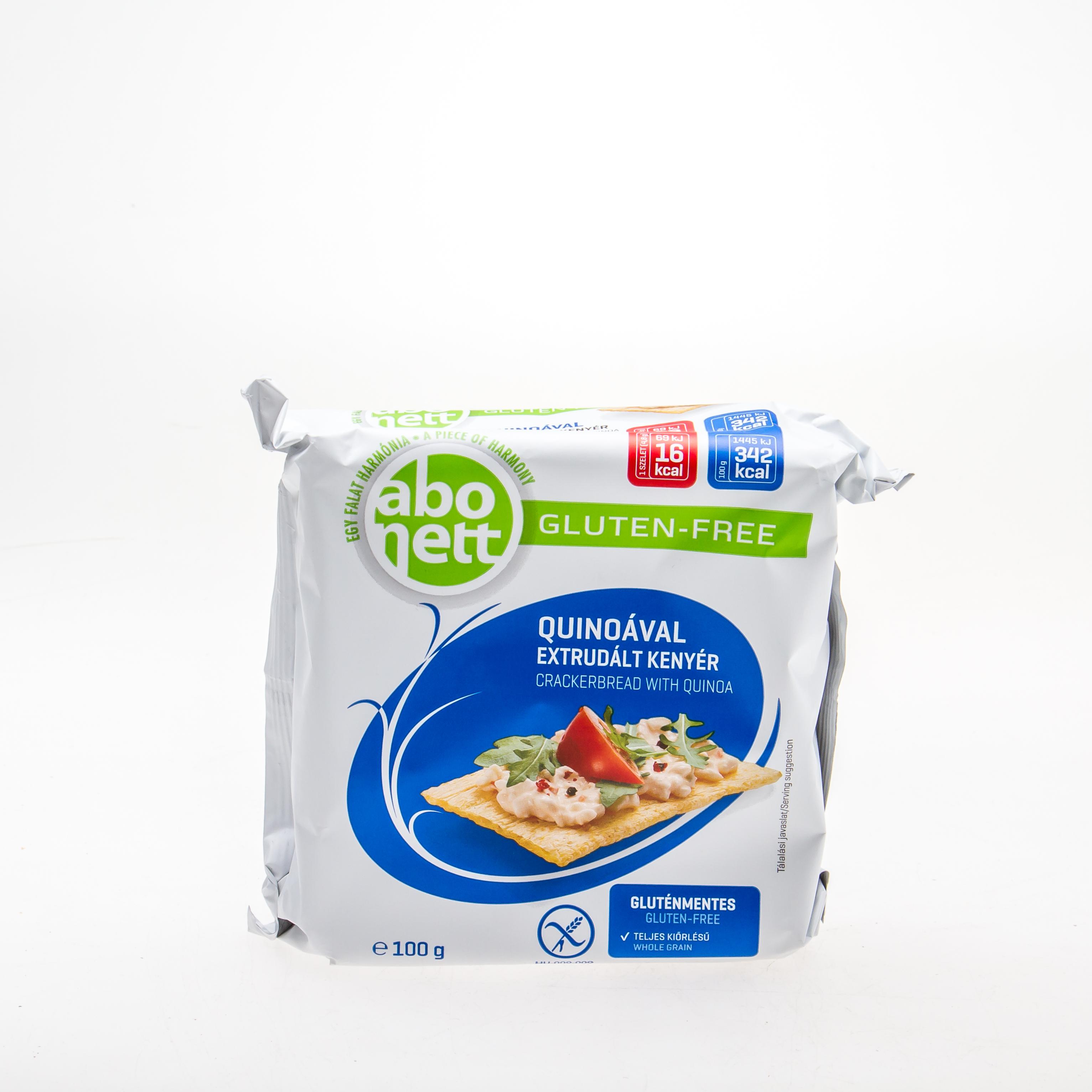 ABONETT Хлібці з кіноа (без глютену), 100 г - купить в интернет-магазине Юнимед