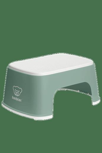 Подставка (Step Stool), темно-зелений/білий - купить в интернет-магазине Юнимед