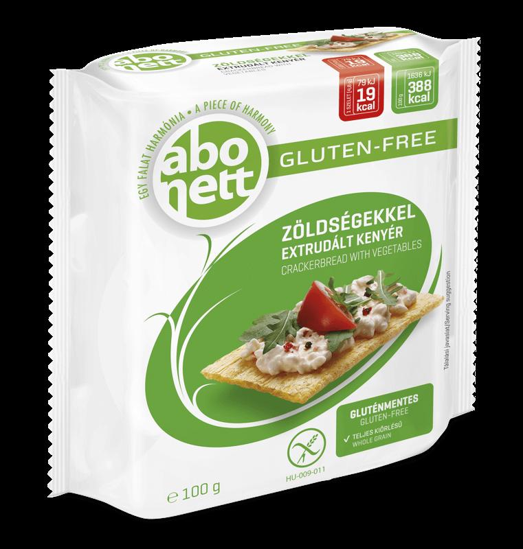 ABONETT   Хлібці з овочами (без глютену), 100 г - купить в интернет-магазине Юнимед