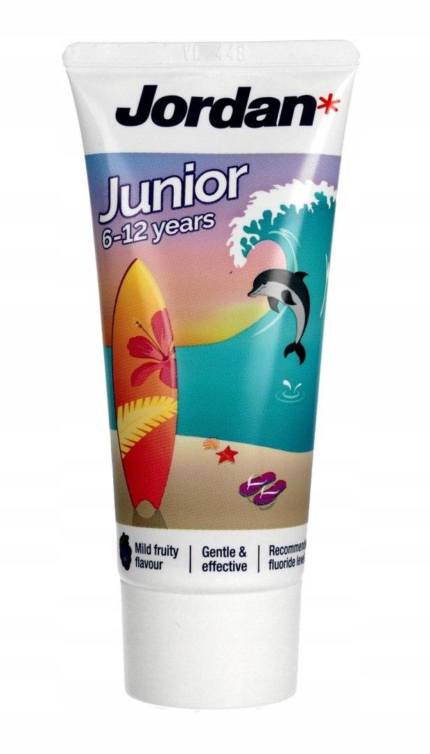 Зубна паста Jordan Junior 6-12 років - купить в интернет-магазине Юнимед