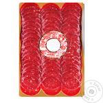 Ковбаса Салямі Organic Meat яловича сирокопчена органічна вищого сорту, нарізана, 80 г - купить в интернет-магазине Юнимед