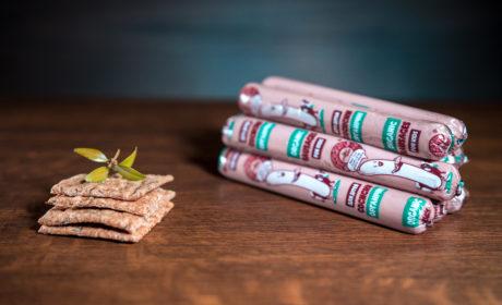 Сосиски Organic Meat для харчування дітей дошкільного та шкільного віку органічні вищий сорт, 350 гр - купить в интернет-магазине Юнимед