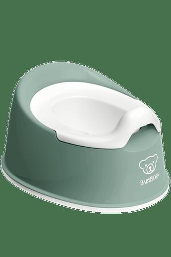 Горщик Смарт (Smart Potty), темно-зелений/білий - купить в интернет-магазине Юнимед