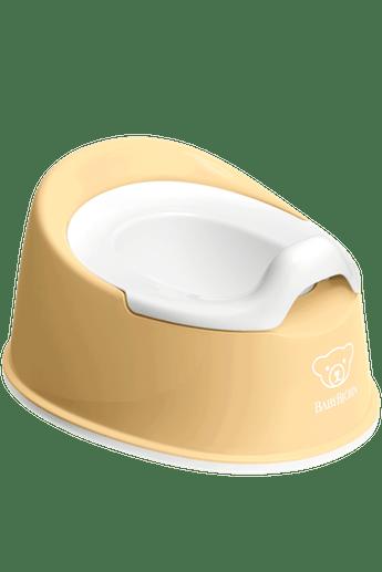 Горщик Смарт (Smart Potty), блідо-жовтий/білий - купить в интернет-магазине Юнимед