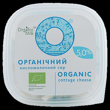 Сир органічний кисломолочний  5,0 %, 300 г - купить в интернет-магазине Юнимед