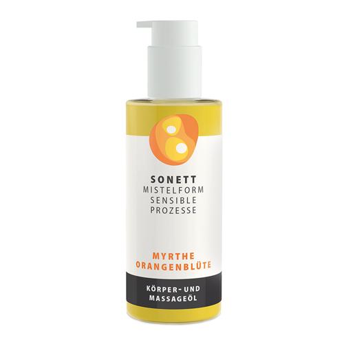 Sonett Органічне масажне масло Мирт та цвіт апельсину, 145 мл - купить в интернет-магазине Юнимед