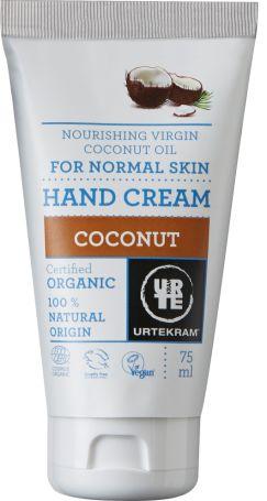 Urtekram Органічний крем для рук. Кокос. 75мл. - купить в интернет-магазине Юнимед
