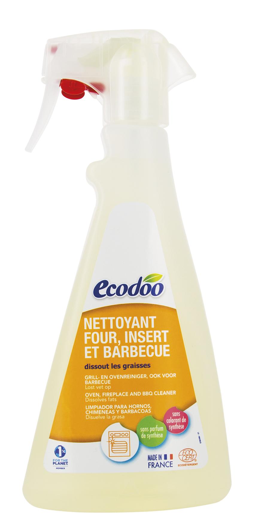 Ecodoo Органічний чистячий і знежирюючий засіб для плит, духовок, витяжок, барбекю, 500 мл - купить в интернет-магазине Юнимед