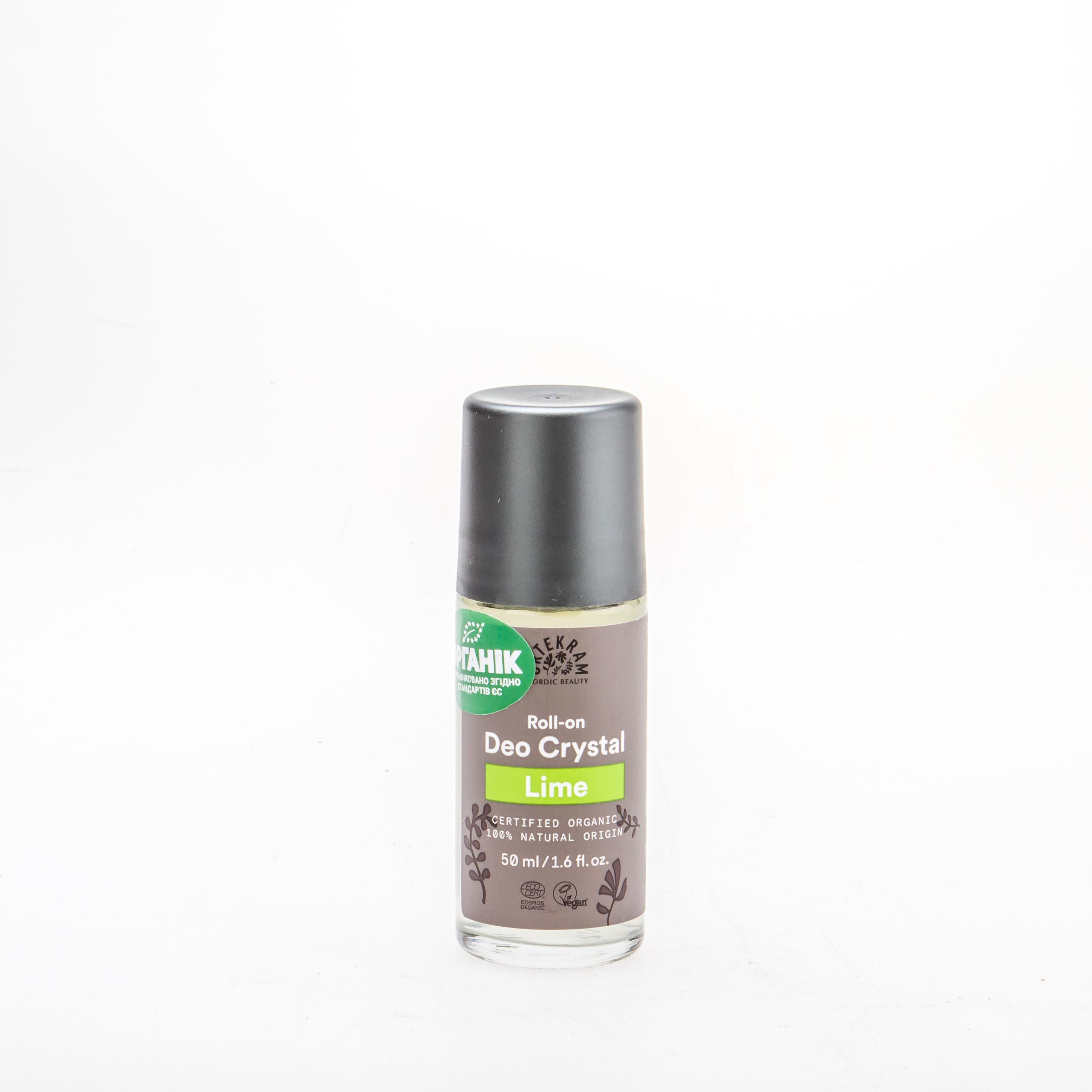 Urtekram Органічний роликовий дезодорант Лайм, 50мл