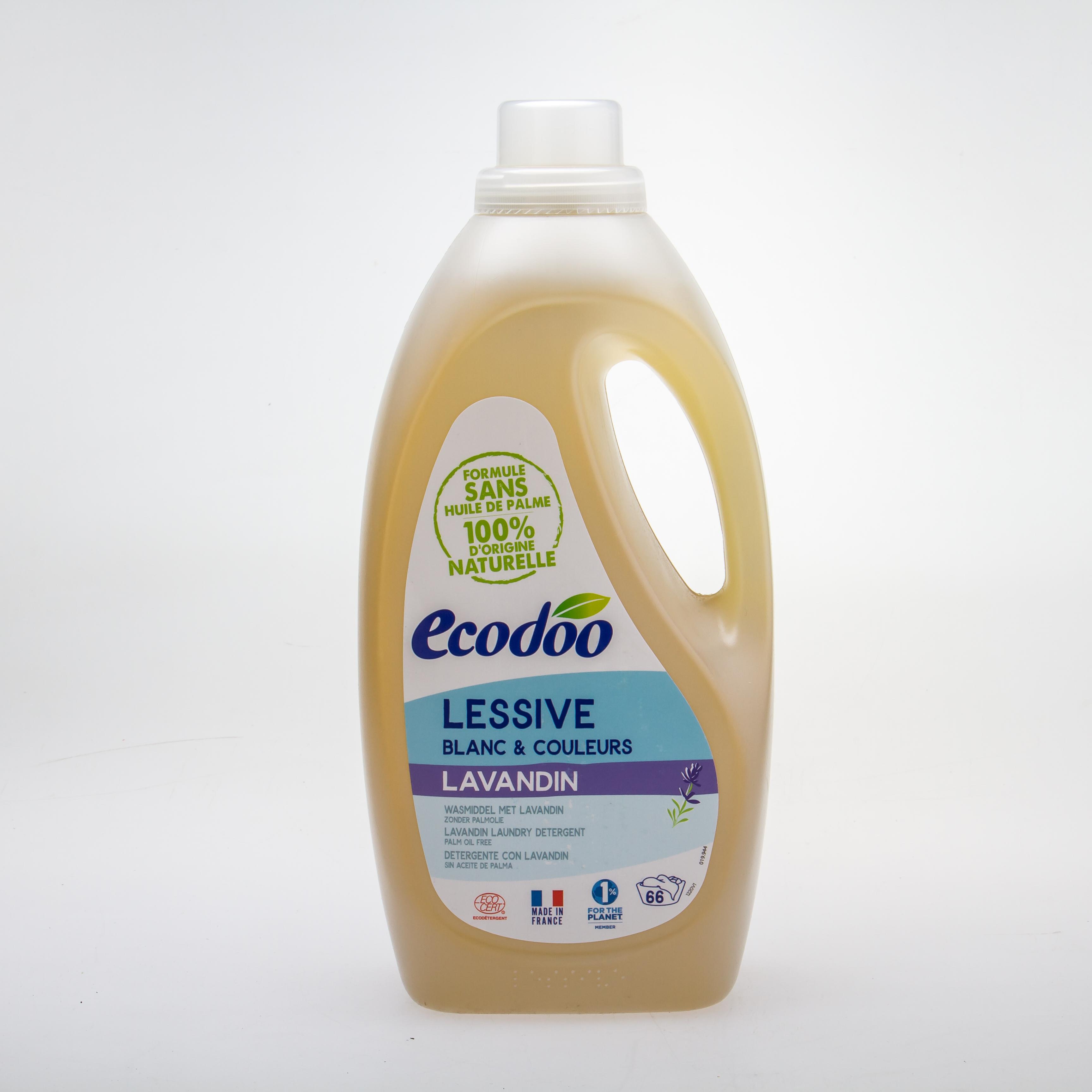 Ecodoo Органічний рідкий пральний засіб «Лаванда» 2L - купить в интернет-магазине Юнимед