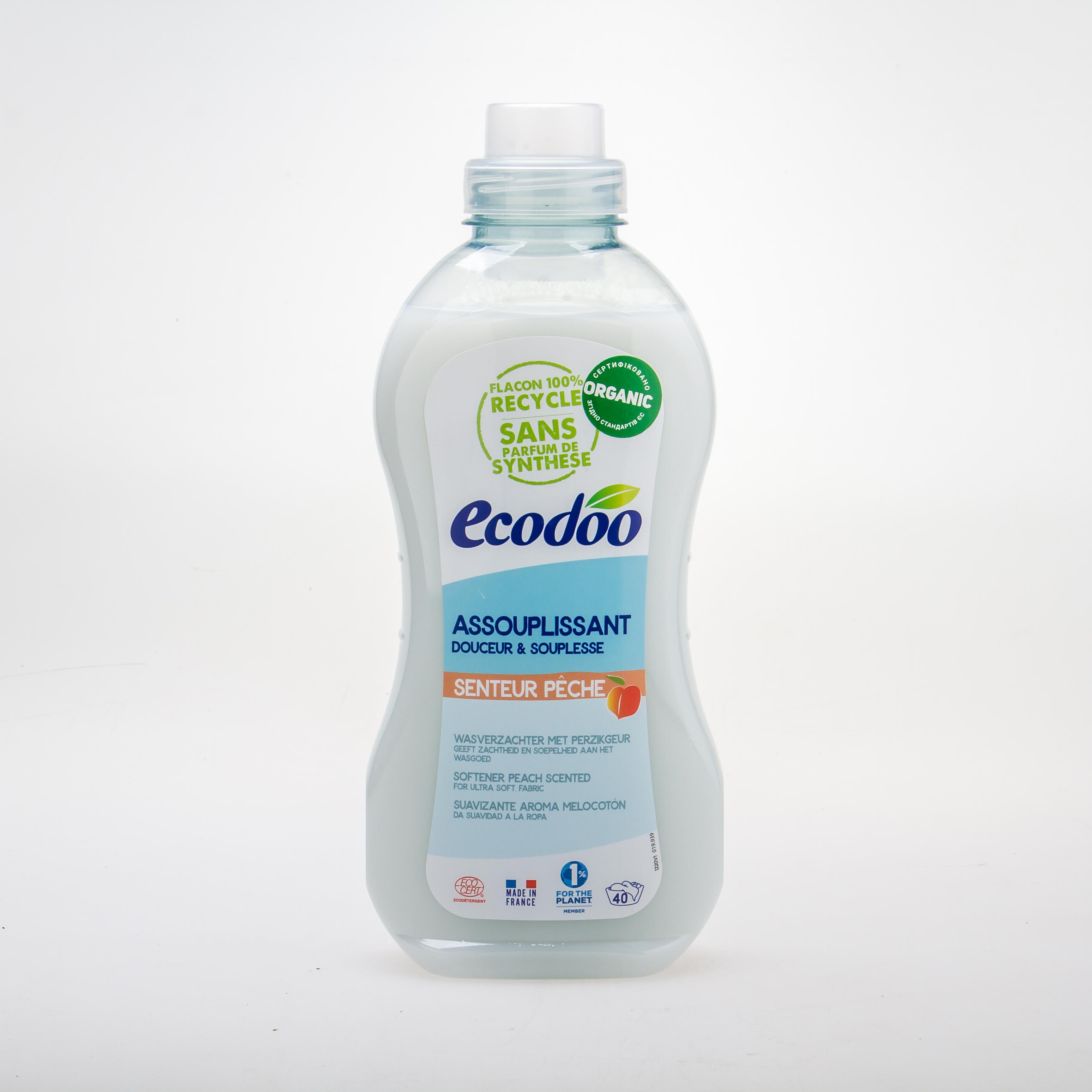 Ecodoo Органічний кондиціонер для білизни «Персик» 1L - купить в интернет-магазине Юнимед