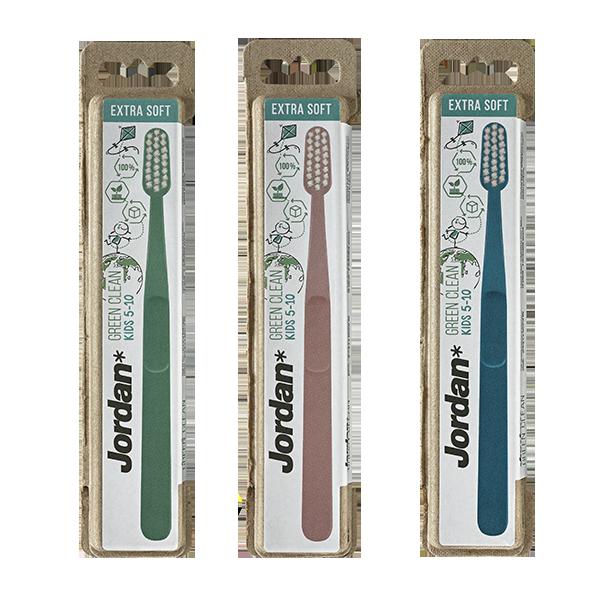 Зубна щітка Green Clean Kids  5-10 (середня) - купити в інтернет-магазині Юнимед