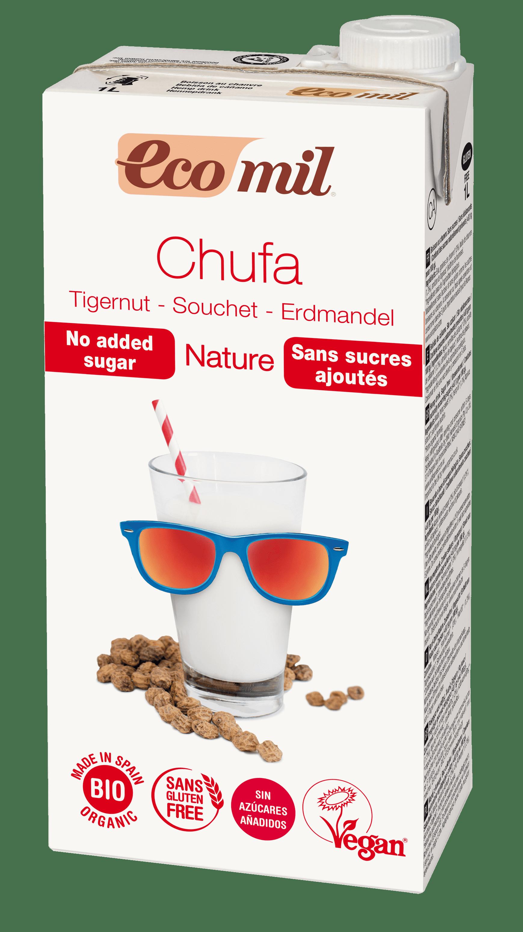 Органічне рослинне молоко з земляного горіху (Чуфа) без додавання цукру, 1л - купить в интернет-магазине Юнимед