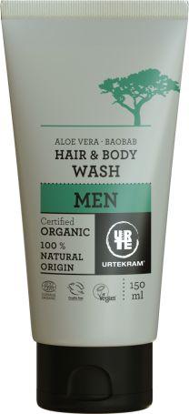 Urtekram Органічний чоловічий засіб для миття голови і тіла . 150мл. - купить в интернет-магазине Юнимед