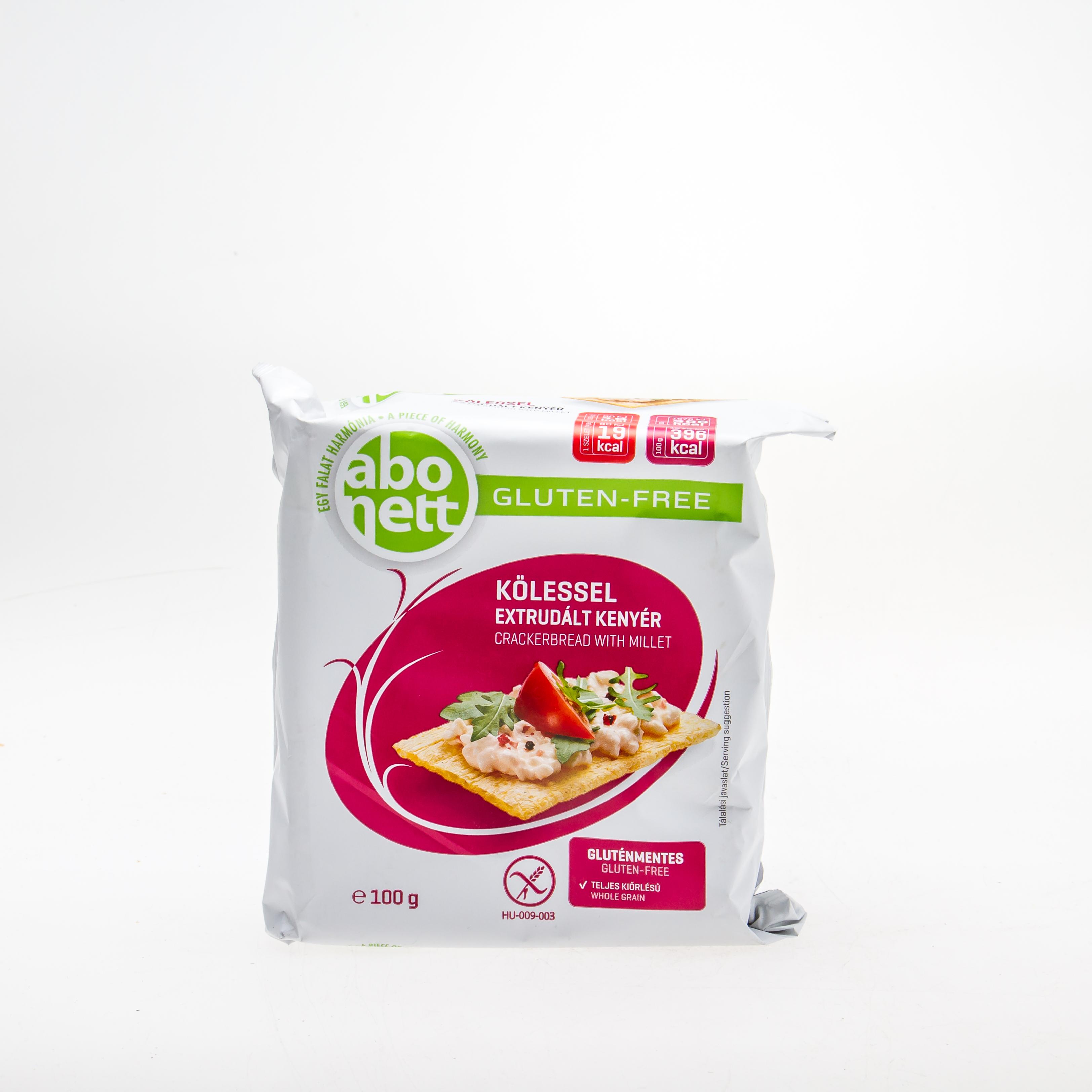 ABONETT Хлібці з пшоном (без глютену), 100 г - купить в интернет-магазине Юнимед
