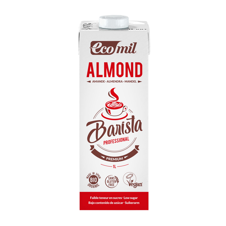 Органічне рослинне молоко з мигдалю Бариста, 1л - купить в интернет-магазине Юнимед