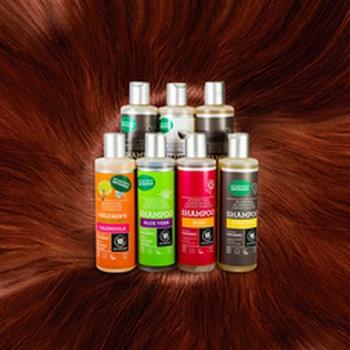 Органічні шампуні Urtekram лікують волосся травами