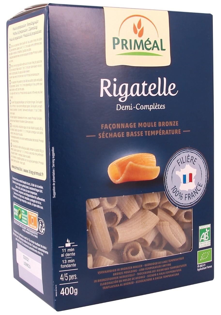 Органічна паста Rigatelle, 400 гр - купить в интернет-магазине Юнимед