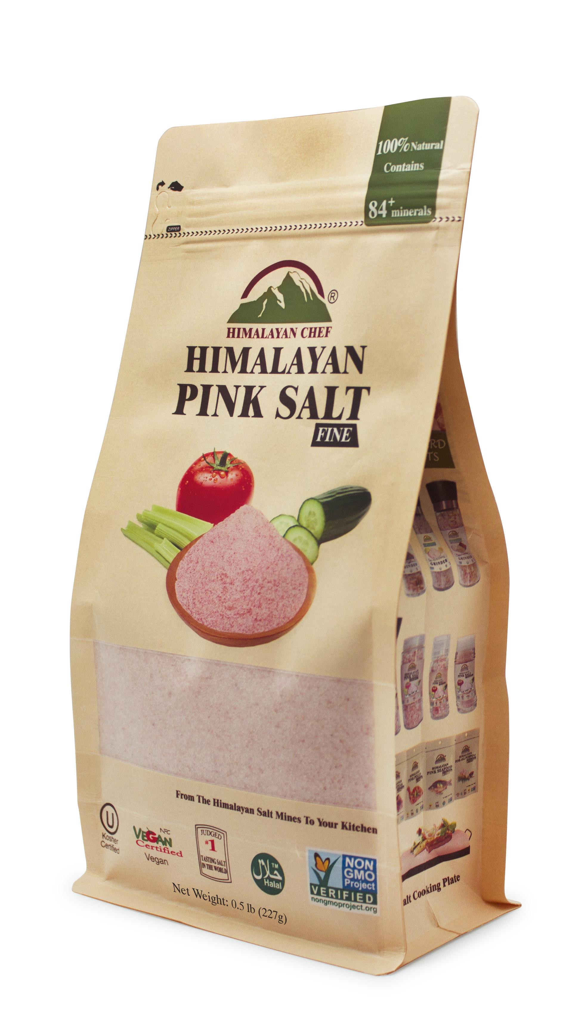 Натуральна Гімалайська рожева сіль, 227гр. Мілка. - купить в интернет-магазине Юнимед
