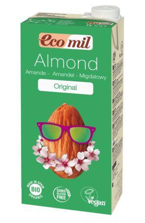 Органічне рослинне молоко з мигдалю з сиропом агави, 1л - купить в интернет-магазине Юнимед