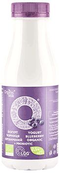 Йогурт органічний питний з наповнювачем