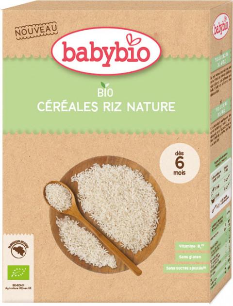 BabyBio Дитяче харчування: Каша органічна рисова від 6 місяців 200 гр - купить в интернет-магазине Юнимед