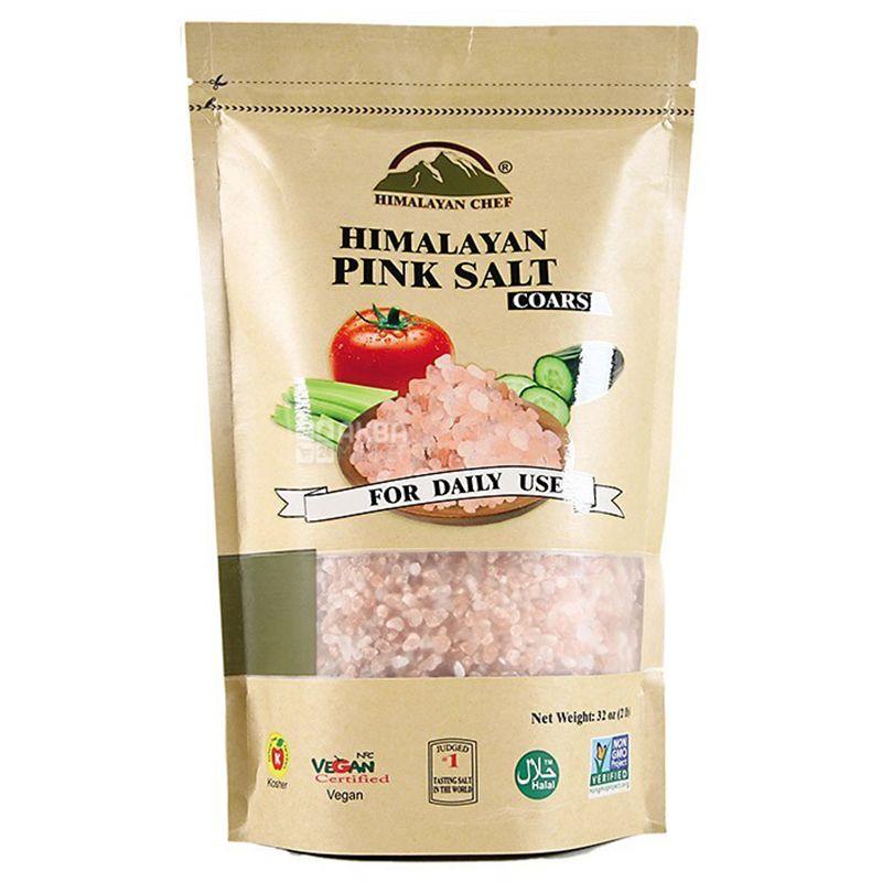 Натуральна Гімалайська рожева сіль  907 гр. Крупна. - купить в интернет-магазине Юнимед