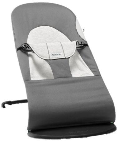 Крісло-шезлонг Balance Soft, темно сірий / сірий бавовна / Джерси - купить в интернет-магазине Юнимед