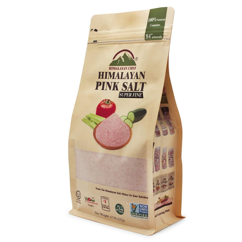 Натуральна Гімалайська рожева сіль, 227гр. Супер мілка. - купить в интернет-магазине Юнимед