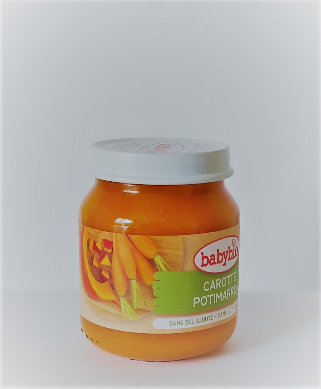 Органічне пюре з моркви та китайського гарбуза, 130 гр - купить в интернет-магазине Юнимед