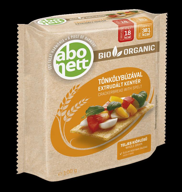 Органічні хлібці зі спельти, 100 гр. ABONETT - купить в интернет-магазине Юнимед