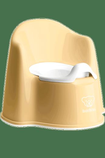 Горщик крісло (Potty Chair), блідо-жовтий/білий - купить в интернет-магазине Юнимед