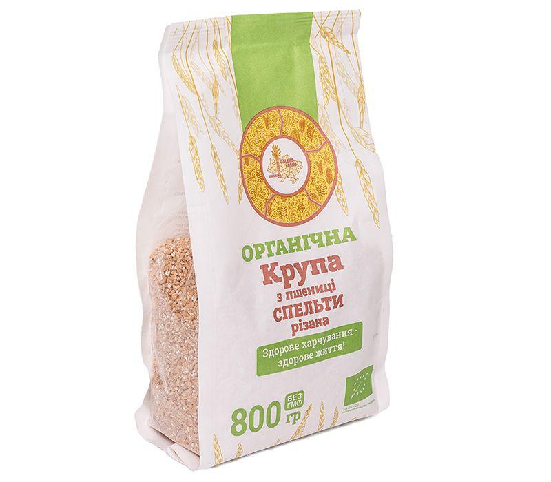 Galeks-Agro  Крупа из пшениці спельти органічна, 800 г - купить в интернет-магазине Юнимед