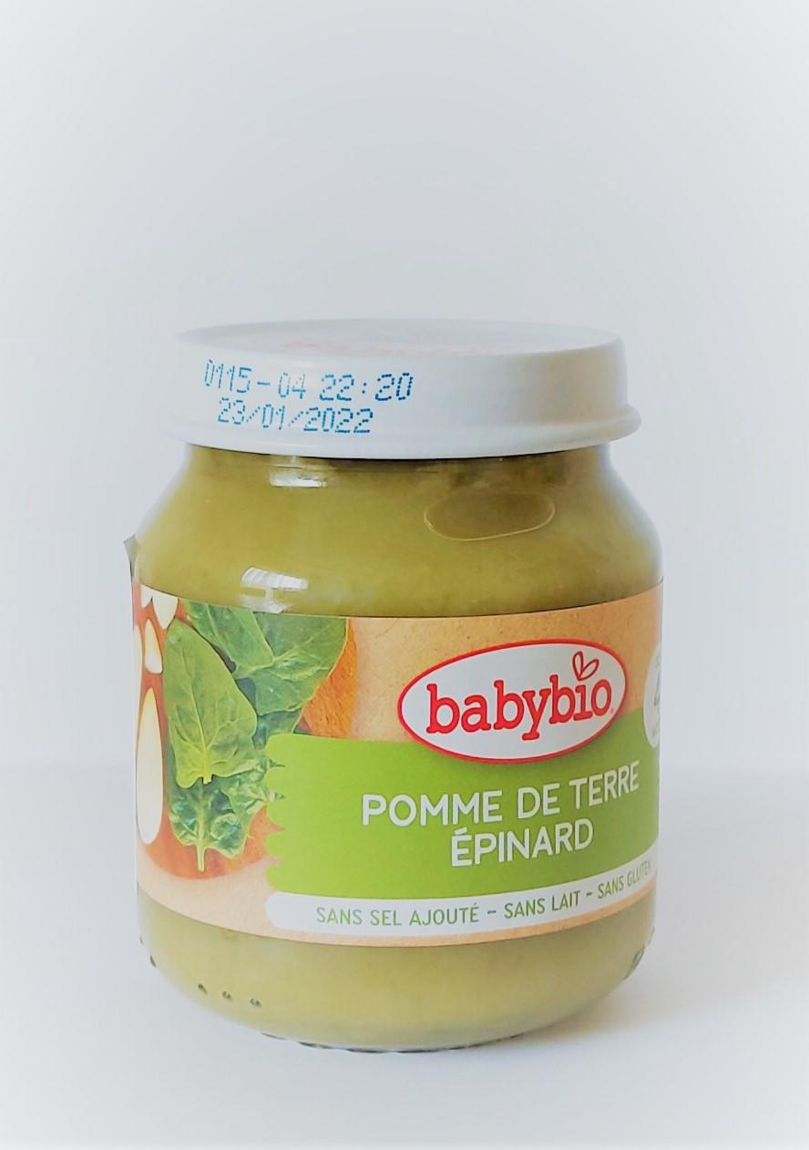 Органічне пюре з картоплі та шпинату 130гр - купить в интернет-магазине Юнимед