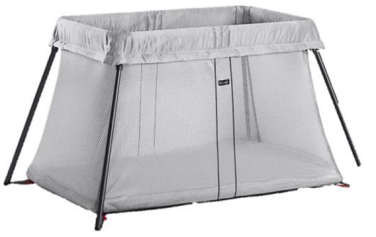 Ліжечко для подорожей  (Travel Crib Light) сріблясте - купить в интернет-магазине Юнимед