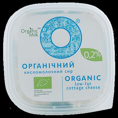 Сир органічний кисломолочний 0,2 %, 300 г - купить в интернет-магазине Юнимед