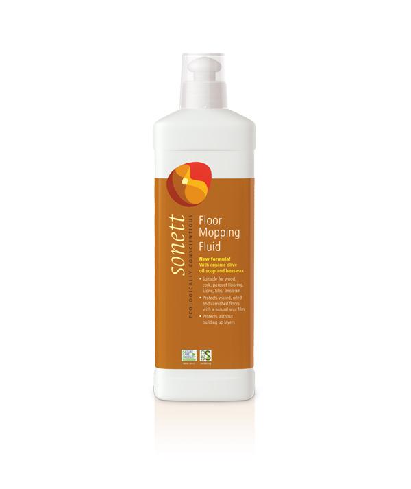 Sonett органічна рідина для миття підлоги. 0,5л. - купить в интернет-магазине Юнимед